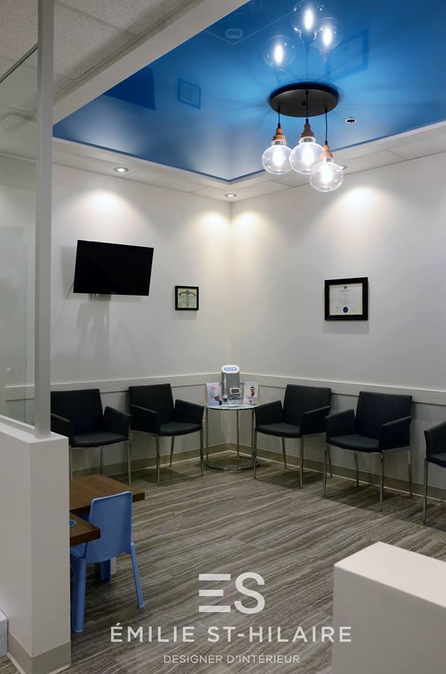 Salle de réception - Centre dentaire Chabot