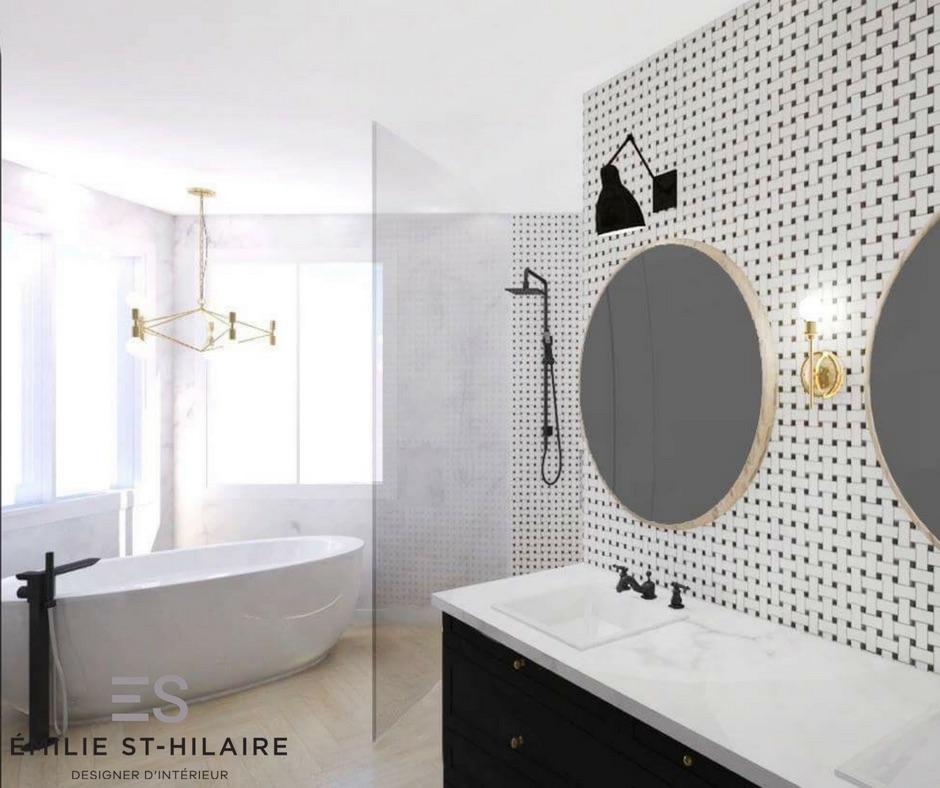Réalisation 3D - Salle de bain