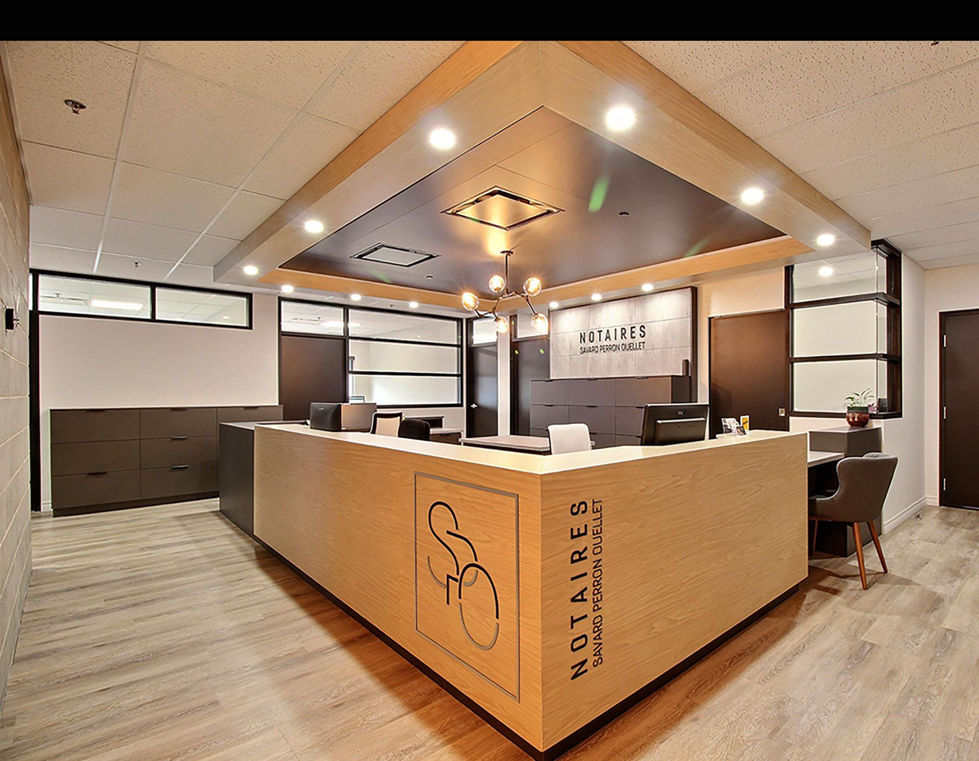 Design commercial - Notaire Savard Perron Ouellet